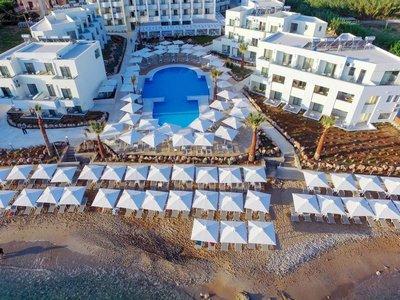 Отель Bomo Rethymno Beach 4* о. Крит – Ретимно Греция