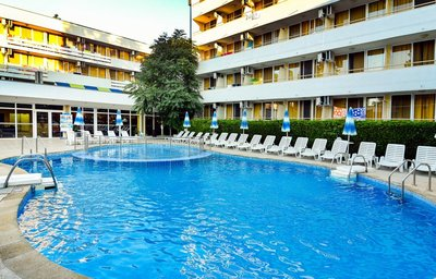 Отель Оазис 3* Албена Болгария
