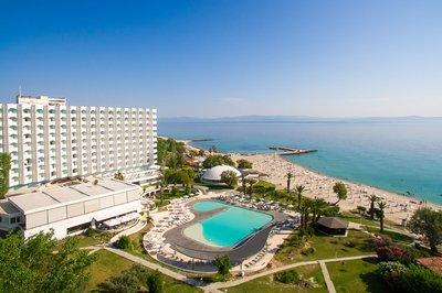 Отель Bomo Pallini Beach Hotel 4* Халкидики – Кассандра Греция