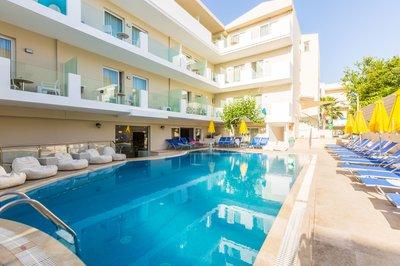 Отель Dimitrios Beach Hotel 3* о. Крит – Ретимно Греция