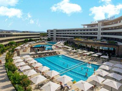 Отель Aqua Paradise Resort 4* Несебр Болгария