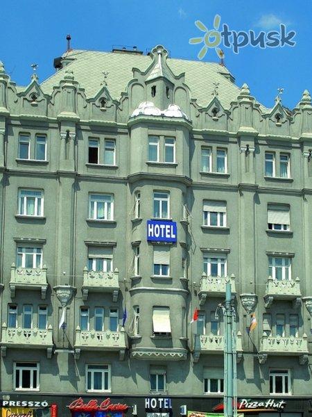 Фото отеля Baross City Hotel 3* Будапешт Венгрия