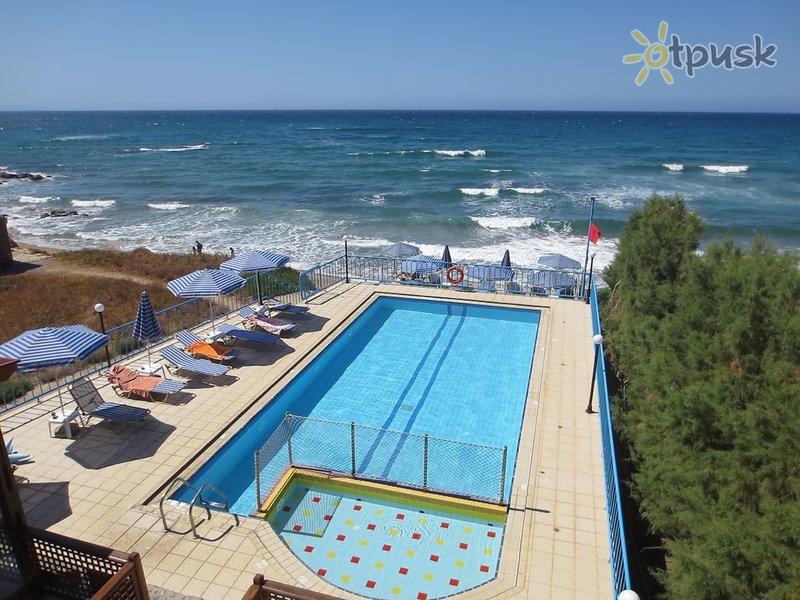 Фото отеля Danaos Beach 2* о. Крит – Ретимно Греция