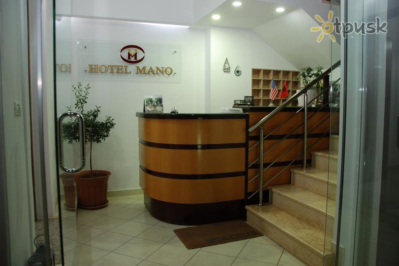 Фото отеля Mano Hotel 3* Саранда Албания