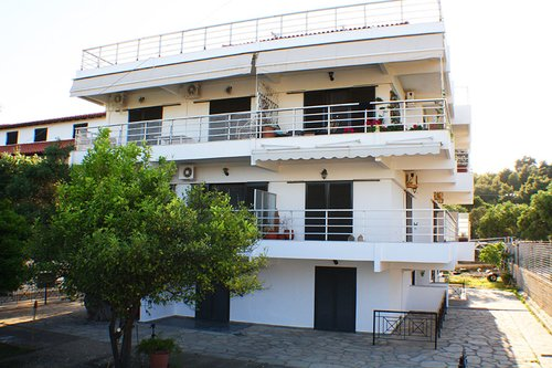 Тур в Salonikiou Beach Deluxe Apartments 3☆ Греція, Халкідіки - Ситонія