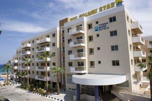 Гарячий тур в Golden Star Beach Hotel 3☆ Кіпр, Протарас