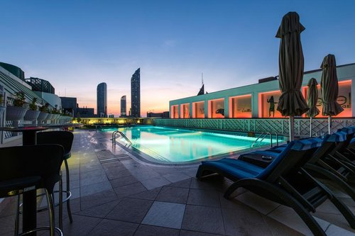 Гарячий тур в Crowne Plaza Abu Dhabi 5☆ ОАЕ, Абу Дабі
