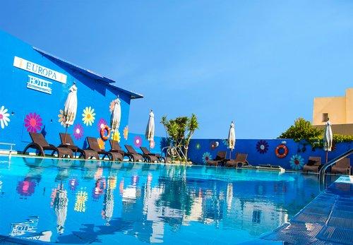 Тур в Europa Hotel 3☆ Греция, о. Родос